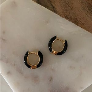 BOGO! Black Huggie Earrings